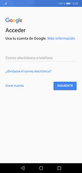Crea una cuenta - Huawei P20 Lite - Passo 2