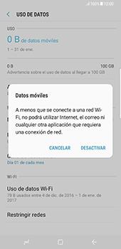 Desactiva tu conexión de datos - Samsung Galaxy S8+ - Passo 6