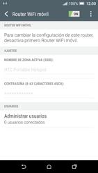 Configura el hotspot móvil - HTC One A9 - Passo 11