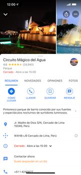 Uso de la navegación GPS - Apple iPhone 11 - Passo 12
