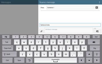 Envía fotos, videos y audio por mensaje de texto - Samsung Galaxy Note Pro - Passo 11
