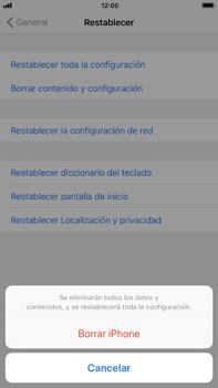 Restaura la configuración de fábrica - Apple iPhone 7 Plus - Passo 6