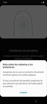 Habilitar seguridad de huella digital - Samsung Galaxy S10 Lite - Passo 11