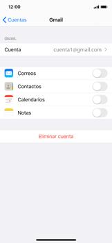 Desactivar la sincronización automática - Apple iPhone XS - Passo 9