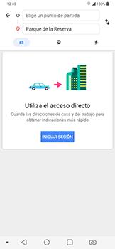 Uso de la navegación GPS - LG G7 Fit - Passo 10