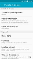 Desbloqueo del equipo por medio del patrón - Samsung Galaxy S6 Edge - G925 - Passo 5