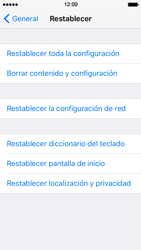 Restaura la configuración de fábrica - Apple iPhone SE - Passo 5