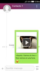 Envía fotos, videos y audio por mensaje de texto - Huawei Y3 II - Passo 17