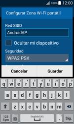 Configura el hotspot móvil - Samsung Galaxy Core 2 - G355 - Passo 8
