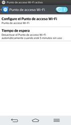 Configura el hotspot móvil - LG G2 - Passo 11