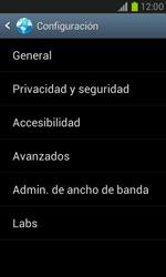 Configura el Internet - Samsung Galaxy Win - I8550 - Passo 22
