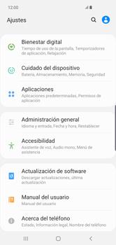 Limpieza de aplicación - Samsung S10+ - Passo 3