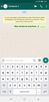 Usar WhatsApp - Samsung Galaxy Note 8 - Passo 7