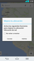 Uso de la navegación GPS - LG G2 - Passo 7