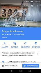 Uso de la navegación GPS - Huawei P9 Lite 2017 - Passo 10