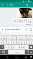 Envía fotos, videos y audio por mensaje de texto - Sony Xperia XZ Premium - Passo 20