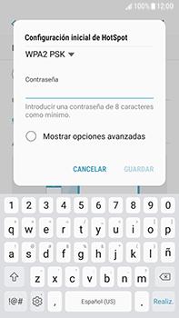 Configura el hotspot móvil - Samsung Galaxy J7 Prime - Passo 10
