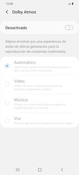 Cómo reproducir sonido con el Dolby Atmos - Samsung Galaxy S20 - Passo 7
