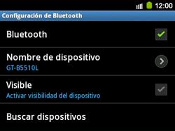Conecta con otro dispositivo Bluetooth - Samsung Galaxy Y Pro GT - B5510 - Passo 7