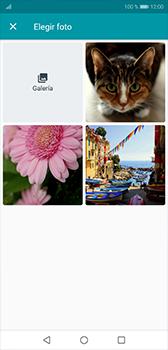 Envía fotos, videos y audio por mensaje de texto - Huawei P20 - Passo 10