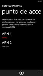 Configura el Internet - Nokia Lumia 1320 - Passo 20