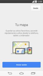 Uso de la navegación GPS - LG G3 Beat - Passo 5