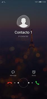 Contesta, rechaza o silencia una llamada - Huawei P20 - Passo 4