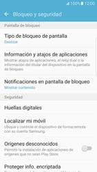 Desbloqueo del equipo por medio del patrón - Samsung Galaxy S7 Edge - G935 - Passo 5