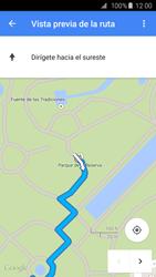 Uso de la navegación GPS - Samsung Galaxy S6 - G920 - Passo 22