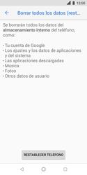 Restaura la configuración de fábrica - Nokia 3.1 - Passo 7