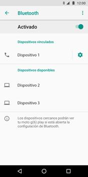 Conecta con otro dispositivo Bluetooth - Motorola Moto G6 Play - Passo 9