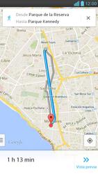 Uso de la navegación GPS - LG Optimus G Pro Lite - Passo 17