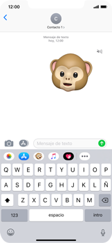 Enviar Animoji - Apple iPhone XS Max - Passo 15