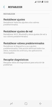 Restaura la configuración de fábrica - Samsung Galaxy S8 - Passo 6