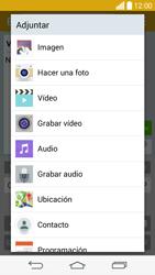 Envía fotos, videos y audio por mensaje de texto - LG G3 Beat - Passo 13
