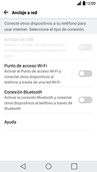 Configura el hotspot móvil - LG G5 - Passo 4