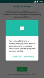 Configuración de Whatsapp - Motorola Moto C - Passo 11