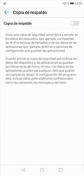 Realiza una copia de seguridad con tu cuenta - Huawei P20 - Passo 6