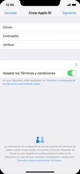 Crea una cuenta - Apple iPhone XS Max - Passo 9