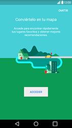 Uso de la navegación GPS - LG G5 - Passo 5