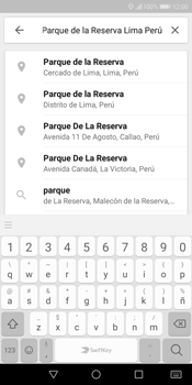 Uso de la navegación GPS - Huawei Y7 (2018) - Passo 7