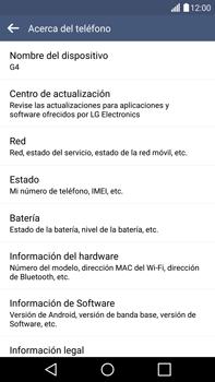 Actualiza el software del equipo - LG G4 - Passo 7