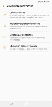 ¿Tu equipo puede copiar contactos a la SIM card? - Samsung A7 2018 - Passo 7