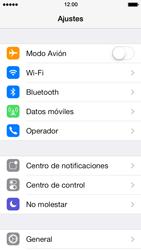 Activa o desactiva el uso del código de seguridad - Apple iPhone 5s - Passo 2