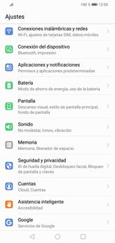 Configura el WiFi - Huawei Y7 2019 - Passo 3