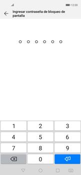 Cómo cambiar el código de bloqueo de pantalla de tu teléfono - Huawei Nova 5T - Passo 5