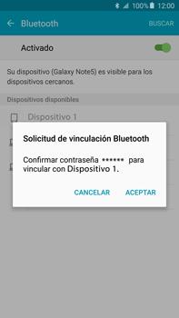 Conecta con otro dispositivo Bluetooth - Samsung Galaxy Note 5 - N920 - Passo 7