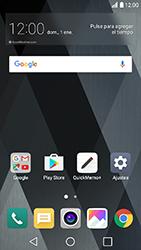 Configuración de Whatsapp - LG K10 2017 - Passo 1