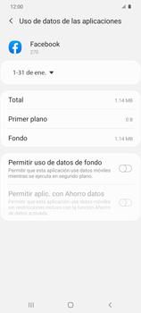 Verificar el uso de datos por apps - Samsung Galaxy S20 - Passo 8