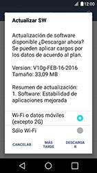 Actualiza el software del equipo - LG K4 - Passo 11